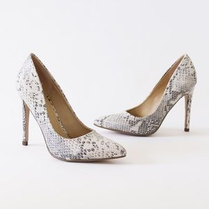 a4b44a30094 cindy python high heel pump stiletto NWT